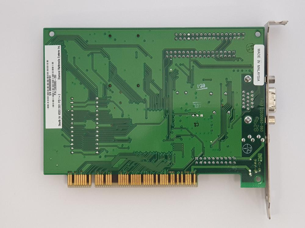 Diamond Stealth 64 Video 2001 (S3 Trio) 64MB AGP