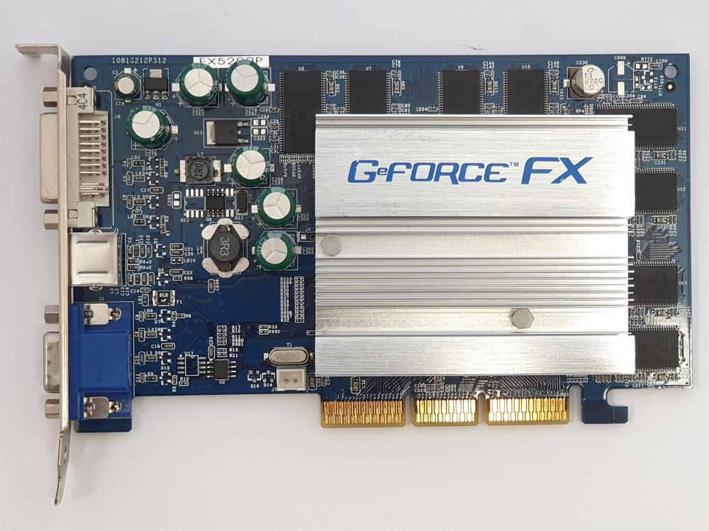 Nvidia GeForce FX5200 128MB AGP