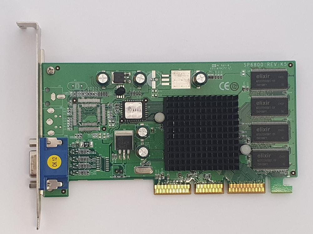 Nvidia GeForce 2 MX-400 64MB AGP