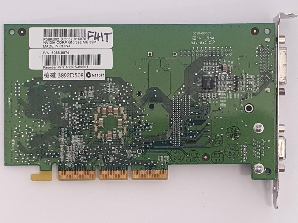 Nvidia GeForce 2 MX 32MB AGP