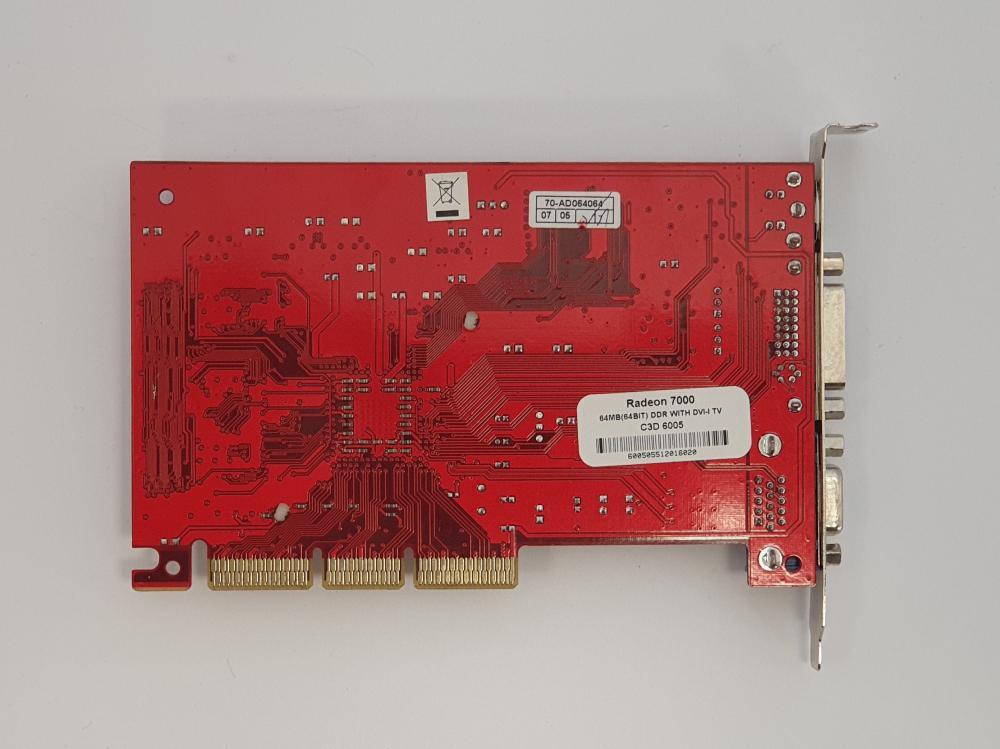 ATI Radeon 7000 64MB AGP