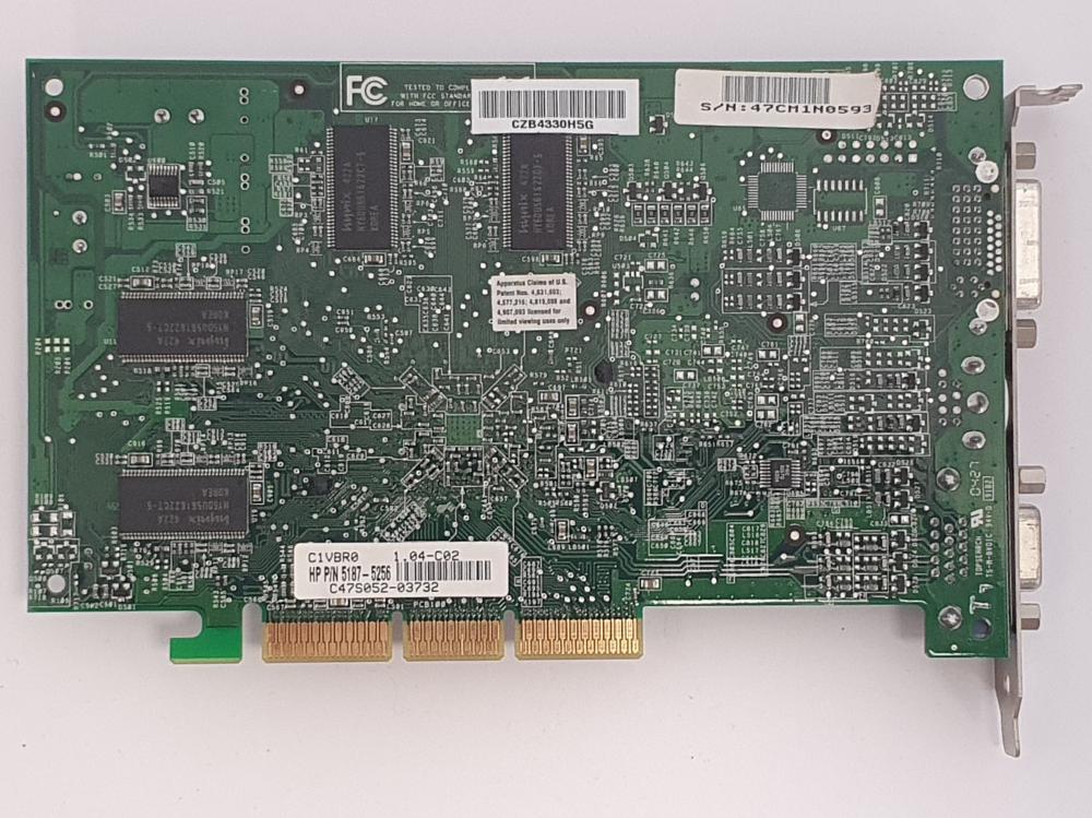 Nvidia GeForce FX5200 256MB AGP