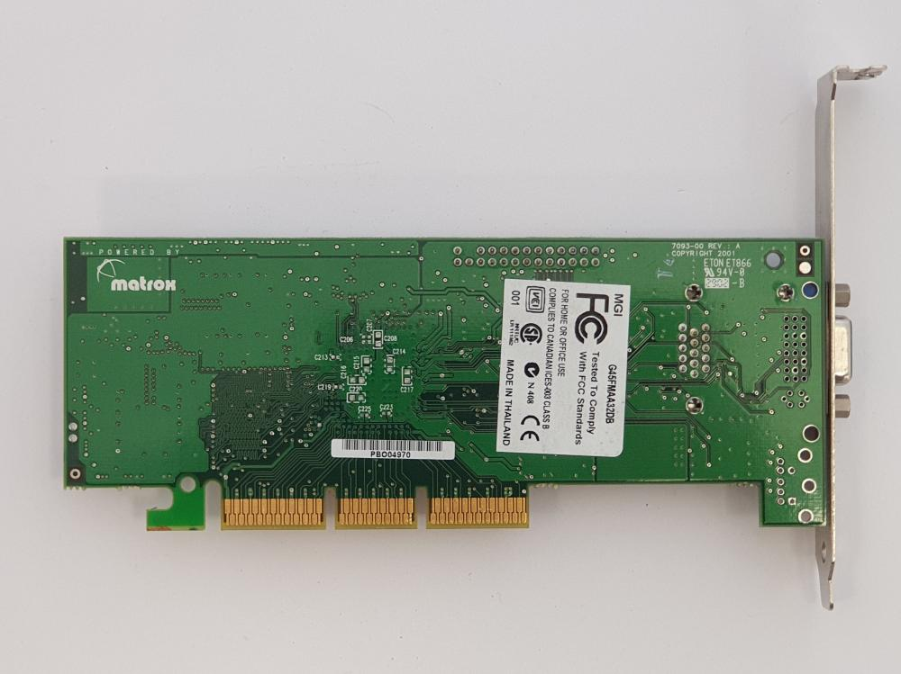 Millennium G450 32MB AGP