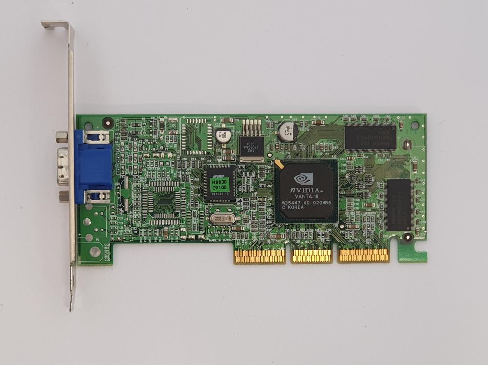 Nvidia Riva TNT2 16MB AGP