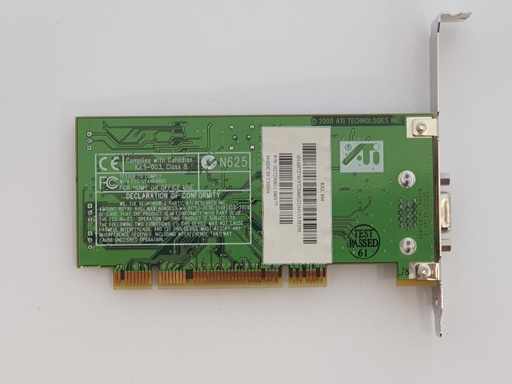 Rage XL 128MB PCI