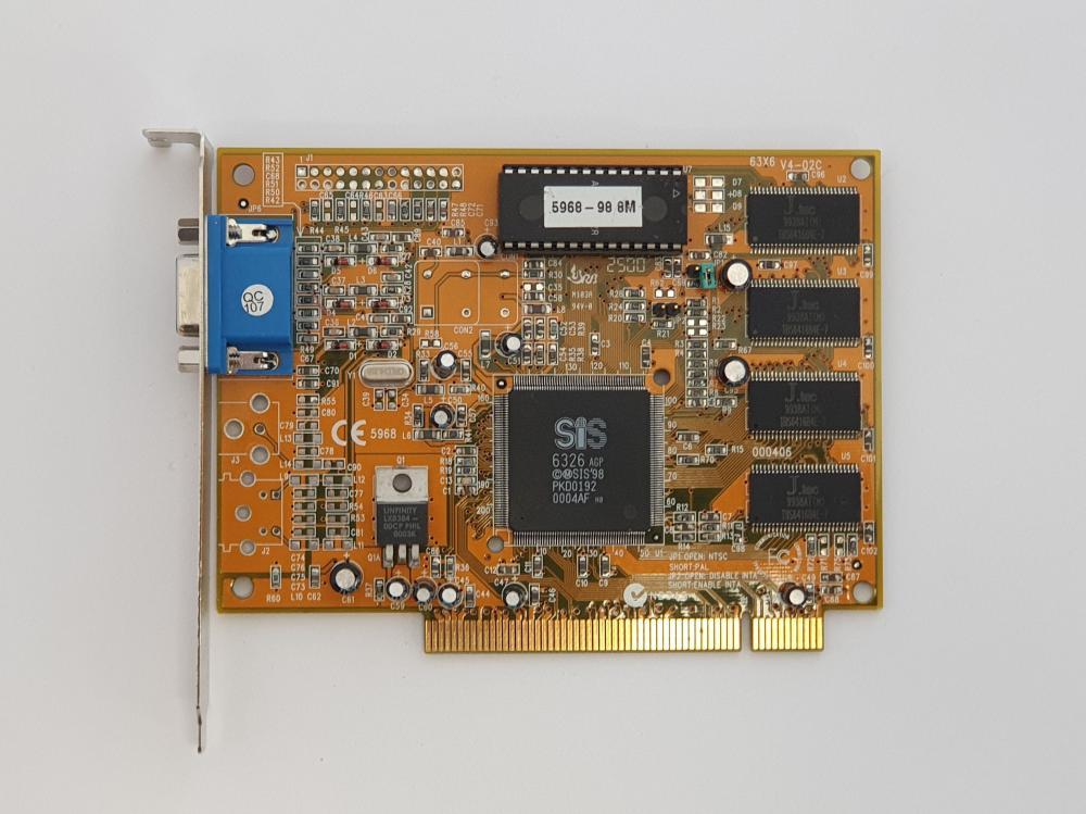 SIS 6326 8MB PCI
