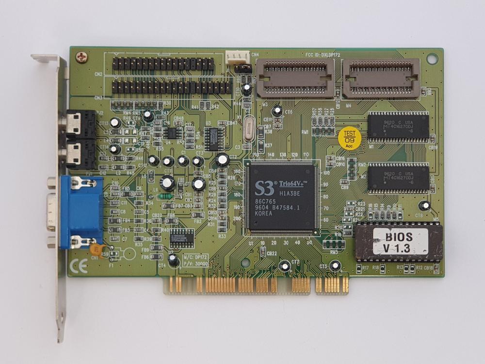 S3 trio 64v+ 64MB PCI