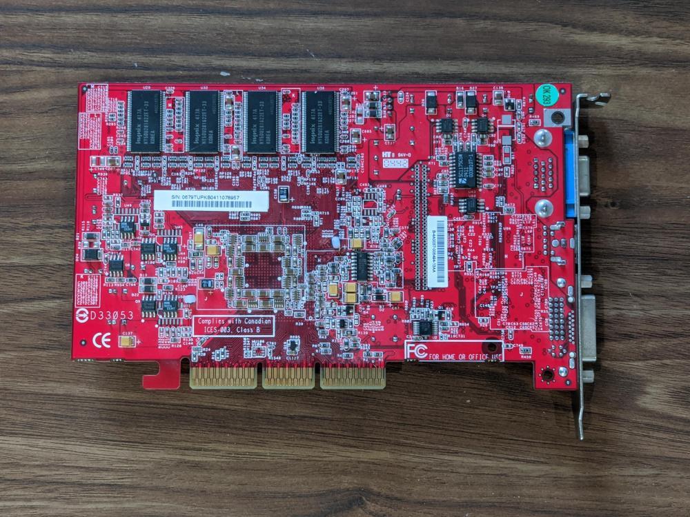 ATI Radeon 9800 SE 128MB AGP